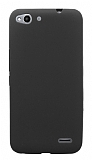 Vodafone Smart Ultra 6 Mat Siyah Silikon Kılıf