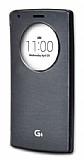Voia LG G4 Orjinal Uyku Modlu Pencereli Siyah Kılıf