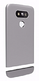 Voia Duo Series LG G5 Silver Rubber K�l�f