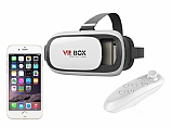 VR BOX iPhone 6 / 6S Bluetooth Kontrol Kumandalı 3D Sanal Gerçeklik Gözlüğü