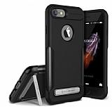 VRS Design Carbon Fit iPhone 7 Ultra Koruma Siyah Kılıf