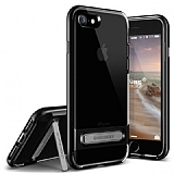 VRS Design Crystal Bumper iPhone 7 / 8 Jet Black Kılıf