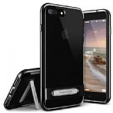 VRS Design Crystal Bumper iPhone 7 Plus Jet Black Kılıf
