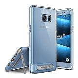 VRS Design Crystal Bumper Samsung Galaxy Note FE Blue Coral Kılıf