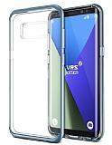VRS Design Crystal Bumper Samsung Galaxy S8 Blue Coral Kılıf