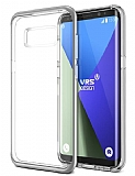 VRS Design Crystal Bumper Samsung Galaxy S8 Light Silver Kılıf