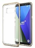 VRS Design Crystal Bumper Samsung Galaxy S8 Plus Shine Gold Kılıf