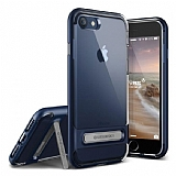 VRS Design Crystal Bumper iPhone 7 Deep Blue Kılıf