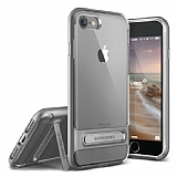 VRS Design Crystal Bumper iPhone 7 Steel Silver Kılıf