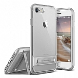 VRS Design Crystal Bumper iPhone 7 / 8 Silver Kılıf