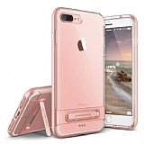 VRS Design Crystal Bumper iPhone 7 Plus Rose Gold Kılıf