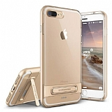 VRS Design Crystal Bumper iPhone 7 Plus Gold K�l�f
