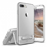 VRS Design Crystal Bumper iPhone 7 Plus Silver K�l�f