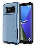VRS Design Damda Folder Samsung Galaxy S8 Blue Coral Kılıf