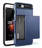 VRS Design Damda Glide iPhone 7 Plus / 8 Plus Deep Blue Kılıf