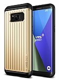 VRS Design Hard Drop Waved Samsung Galaxy S8 Shine Gold Kılıf
