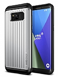 VRS Design Hard Drop Waved Samsung Galaxy S8 Plus Light Silver Kılıf