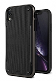 VRS Design High Pro Shield iPhone XR Metal Black Kılıf