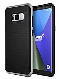 VRS Design High Pro Shield Samsung Galaxy S8 Light Silver Kılıf