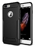 VRS Design New Carbon Fit iPhone 7 Plus / 8 Plus Ultra Koruma Siyah Kılıf