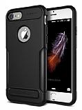 VRS Design New Carbon Fit iPhone 7 Ultra Koruma Siyah Kılıf