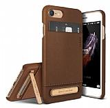VRS Design Simpli Leather iPhone 7 Kahverengi Kılıf