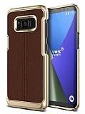 VRS Design Simpli Mod Samsung Galaxy S8 Plus Kahverengi Kılıf
