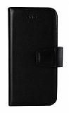 Wachikopa Samsung Galaxy S8 Kapaklı Siyah Gerçek Deri Kılıf