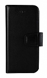Wachikopa Samsung Galaxy S9 Plus Kapaklı Siyah Gerçek Deri Kılıf
