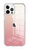 Wiwu Chameleon Glass iPhone 12 Pro Max 6.7 inç Cam Pembe Kılıf