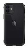 Wiwu Defens Armor iPhone 11 6.1 inç Ultra Koruma Siyah Kılıf 