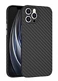 Wiwu Skin Carbon iPhone 11 Pro Ultra İnce Rubber Kılıf 