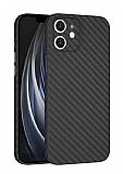 Wiwu Skin Carbon iPhone 11 Ultra İnce Rubber Kılıf 