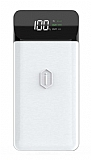 Wiwu W2 PD 10000 mAh Kablosuz Powerbank Beyaz Yedek Batarya