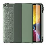 Wlons iPad 10.2 (2020) 8.Nesil Standlı Kapaklı Yeşil Kılıf