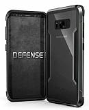 X-Doria Clear Samsung Galaxy S8 Plus Ultra Koruma Siyah Kılıf