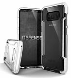 X-Doria Clear Samsung Galaxy S8 Plus Ultra Koruma Beyaz Kılıf