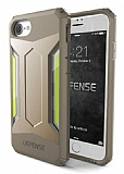 X-Doria Defense Gear iPhone 7 / 8 Ultra Koruma Gold Kılıf