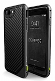 X-Doria Defense Lux iPhone 7 Plus / 8 Plus Karbon Desenli Ultra Koruma Kılıf