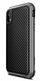 X-Doria Defense Lux iPhone XR Ultra Koruma Siyah Kılıf