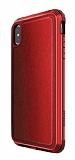 X-Doria Defense Lux iPhone XS Max Ultra Koruma Kırmızı Kılıf