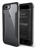 X-Doria Defense Shield iPhone 7 Plus / 8 Plus Ultra Koruma Dark Silver Kılıf