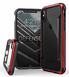 X-Doria Defense Shield iPhone X Ultra Koruma Kırmızı Kılıf
