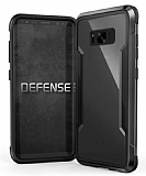 X-Doria Defense Shield Samsung Galaxy S8 Plus Ultra Koruma Dark Silver Kılıf