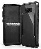 X-Doria Defense Shield Samsung Galaxy S8 Plus Ultra Koruma Dark Silver Kılıf