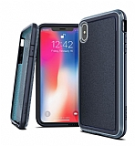 X-Doria Defense Ultra iPhone X / XS Ultra Koruma Lacivert Kılıf