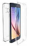 X-Doria Samsung Galaxy Note 7 Tam Koruma Şeffaf Rubber Kılıf