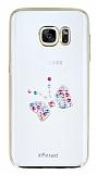X-Fitted Samsung Galaxy S7 Fiyonk Swarovski Taşlı Kristal Kılıf