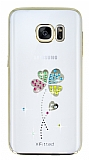 X-Fitted Samsung Galaxy S7 Yonca Swarovski Taşlı Kristal Kılıf
