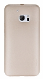 X-Level Guardian HTC 10 �nce Gold Silikon K�l�f